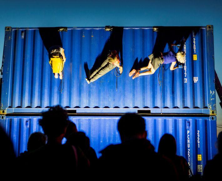 Zeecontainers - Festival Over het IJ